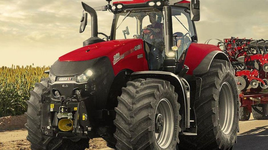 "Finalist in der Kategorie ""Tractor of the Year"": Case-IH Magnum 380 CVX Drive"