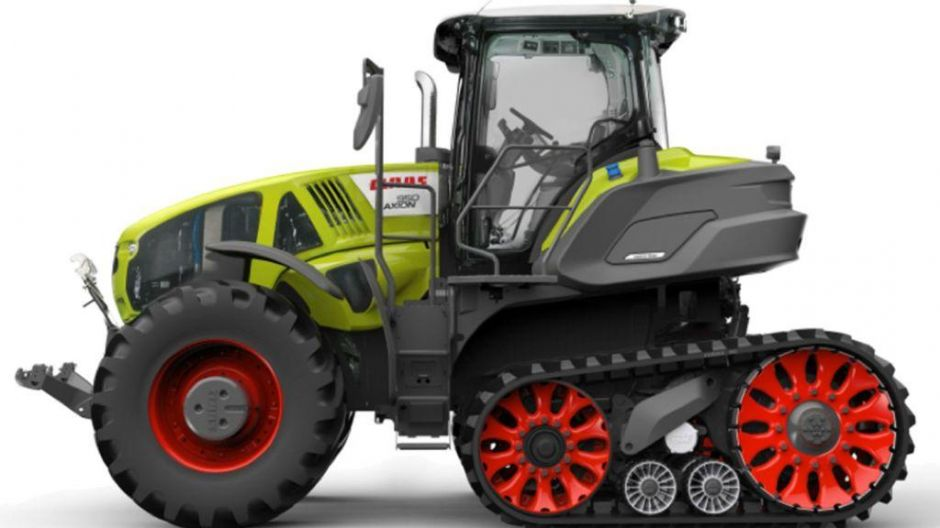 "Finalist in der Kategorie ""Tractor of the Year"":Claas Axion 960 Terra Trac"