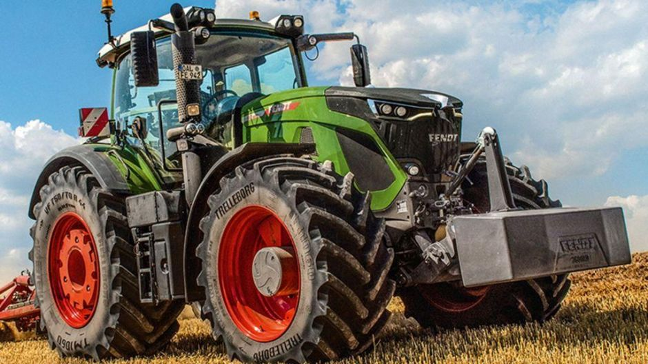 "Finalist in der Kategorie ""Tractor of the Year"": Fendt 942 Vario 6"