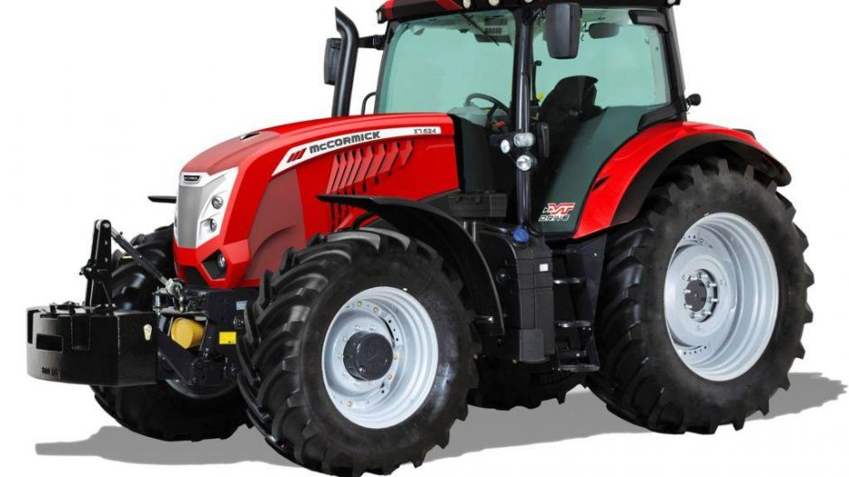 "Finalist in der Kategorie ""Tractor of the Year"": McCormick X7.624 VT Drive"