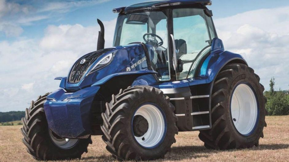 "Finalist in der Kategorie ""Sustainable Tractor of the Year"": New Holland Methane Power"