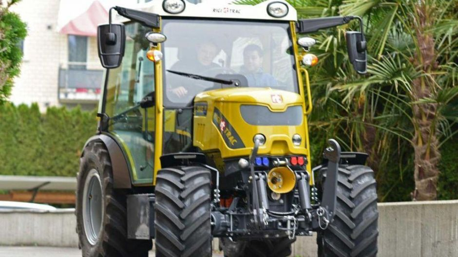 "Finalist in der Kategorie ""Sustainable Tractor of the Year"": Rigitrac SKE 50"