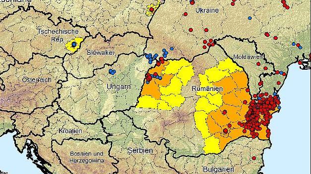 Rumänien Coronavirus