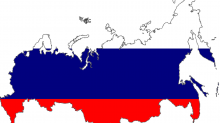 Flagge Russland