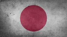 Japan Flagge Stock Asien