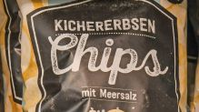 Chips aus Kichererbsen