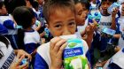 Milch kinder indonesien
