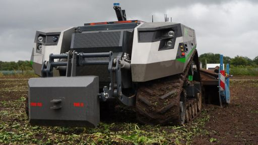 Claas-AgXeed-Maschine