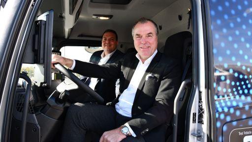Tönnies Daimler E-LKW
