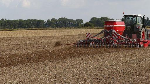 Weizen aussaat drillen horsch