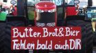 butter brot bier protest demonstration